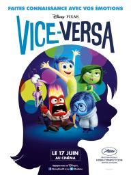 Vice-Versa = Inside Out / Pete Docter, réal. | Docter, Pete. Monteur. Scénariste