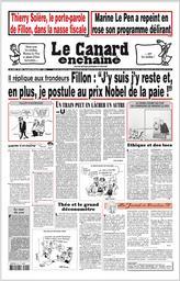Le canard enchaîné / Nicolas Brimo |