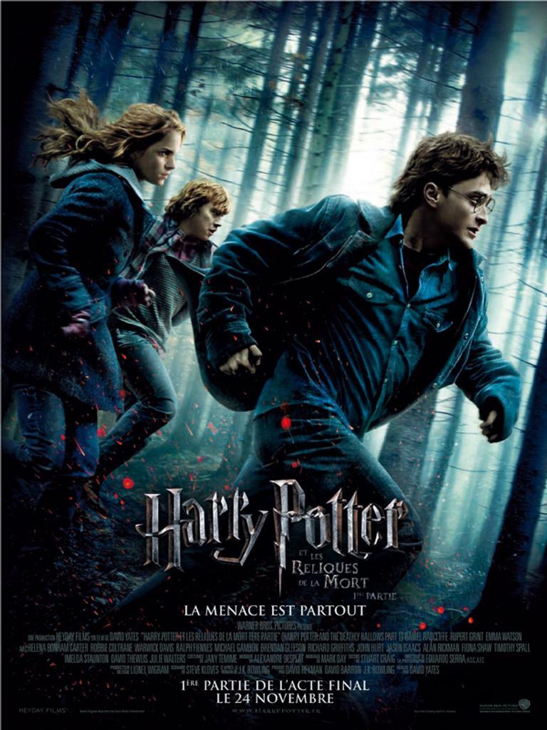 Harry Potter et les reliques de la mort (1ère partie) / Chris Columbus, Alfonso Cuaron, Mike Newell, David Yates, réal. |