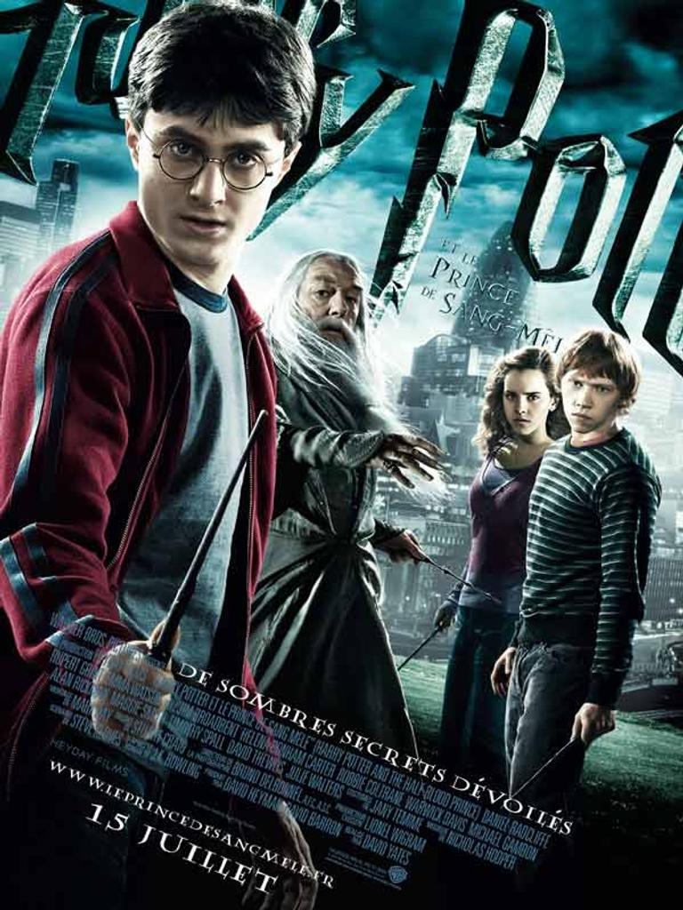 Harry Potter et le Prince de sang mêlé / Chris Columbus, Alfonso Cuaron, Mike Newell, David Yates, réal. |