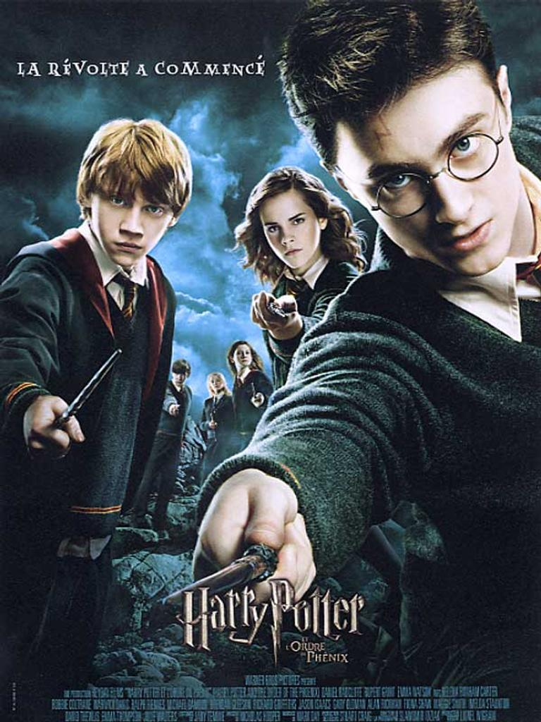 Harry Potter et l'ordre du Phénix / Chris Columbus, Alfonso Cuaron, Mike Newell, David Yates, réal. |