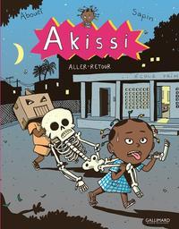 Akissi. 9 : Aller-Retour / Mathieu Sapin   Sapin, Mathieu. Illustrateur