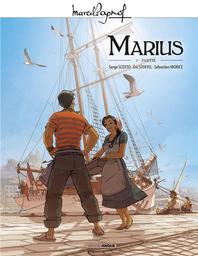 Marius. 1re partie / scénario, Serge Scotto, Éric Stoffel   Scotto, Serge (1963-....). Auteur