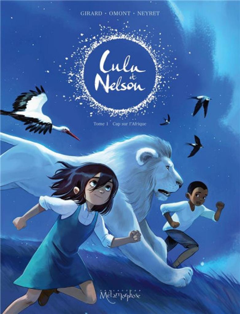 Lulu et Nelson. 1, Cap sur L'Afrique / Aurélie Neyret illustratrice |