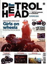 Petrol Head : Le magazine des motos uniques et iconiques / Rédacteur en chef Fabrice Roux | Roux , Fabrice. Auteur