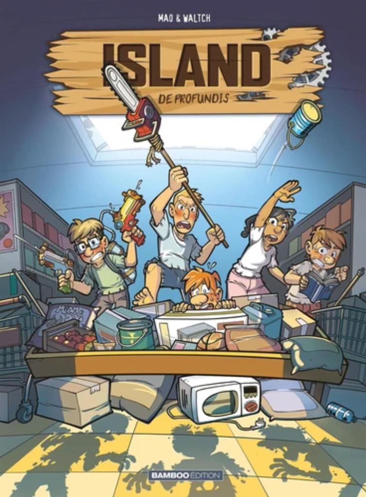 Island. 2, De Profundis / scénario, Sébastien Mao |