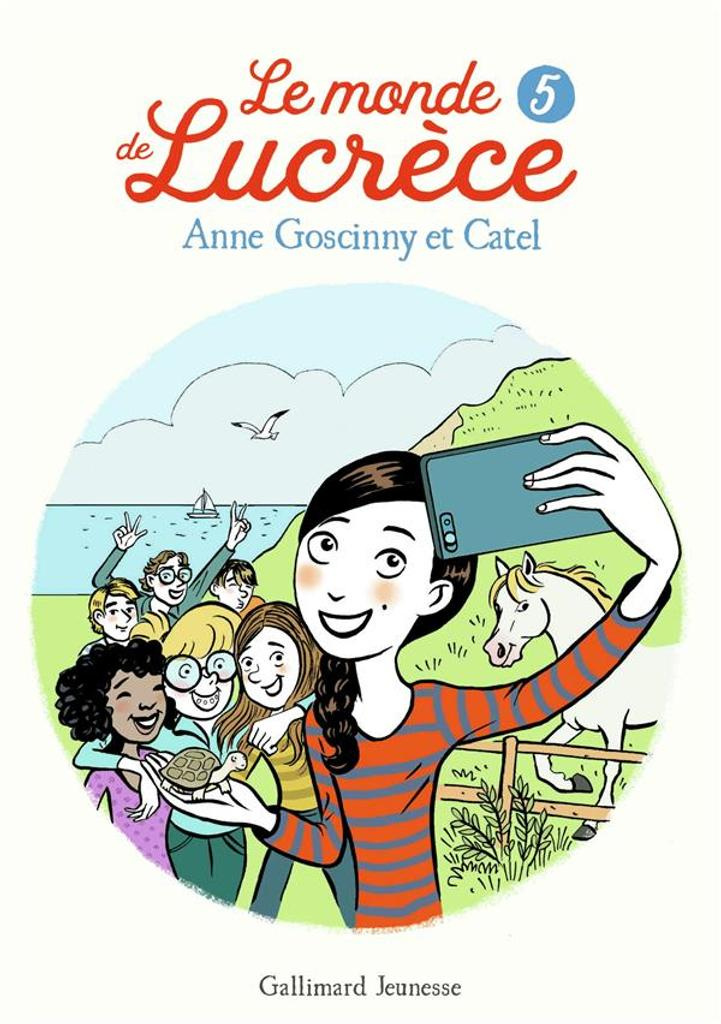 Le monde de Lucrèce / Anne Goscinny |