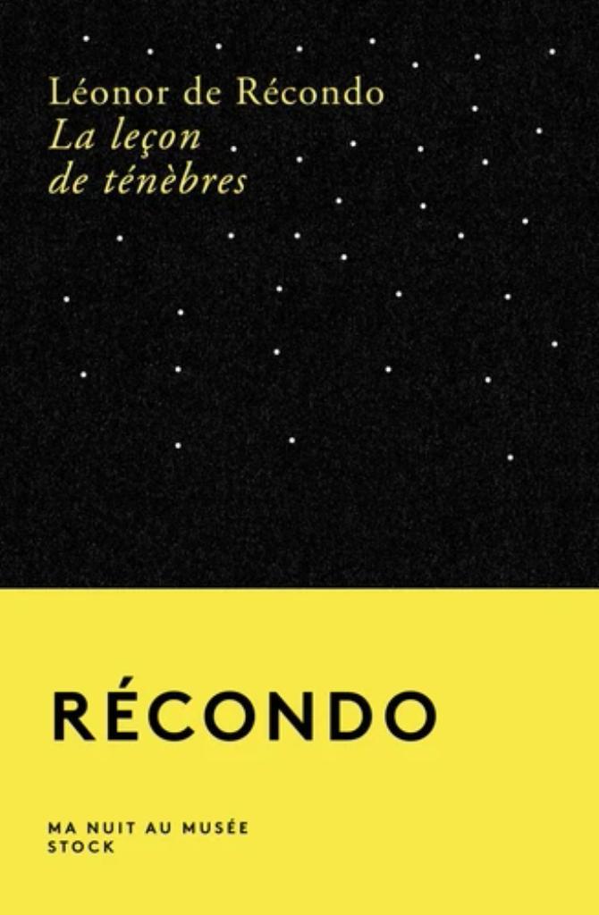 La leçon de Ténèbres / Léonor de Récondo |