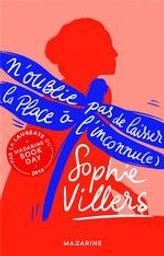 N'oublie pas de laisser la place à l'inconnu(e) / Sophie Villers | Villers, Sophie. Auteur