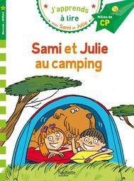 Sami et Julie au camping / texte, Emmanuelle Massonaud | Massonaud, Emmanuelle (1960-....). Auteur
