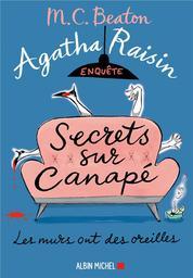 Agatha Raisin enquête. 26, Secrets sur canapé / M. C. Beaton   Beaton, M. C.. Auteur