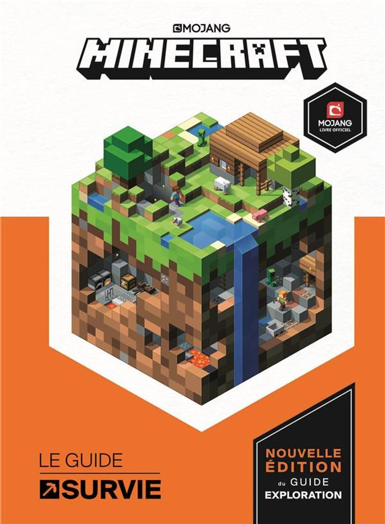 Minecraft, guide officiel de la survie |