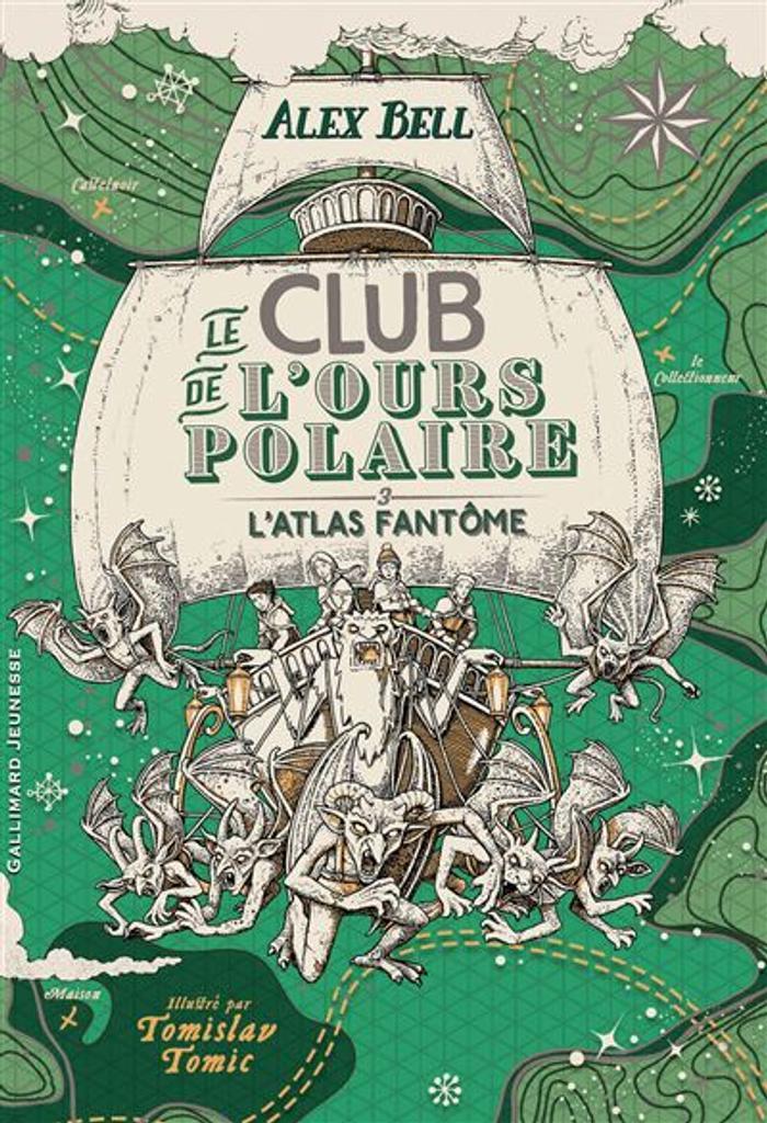 Le club de l'ours polaire. 3, L'atlas fantôme |