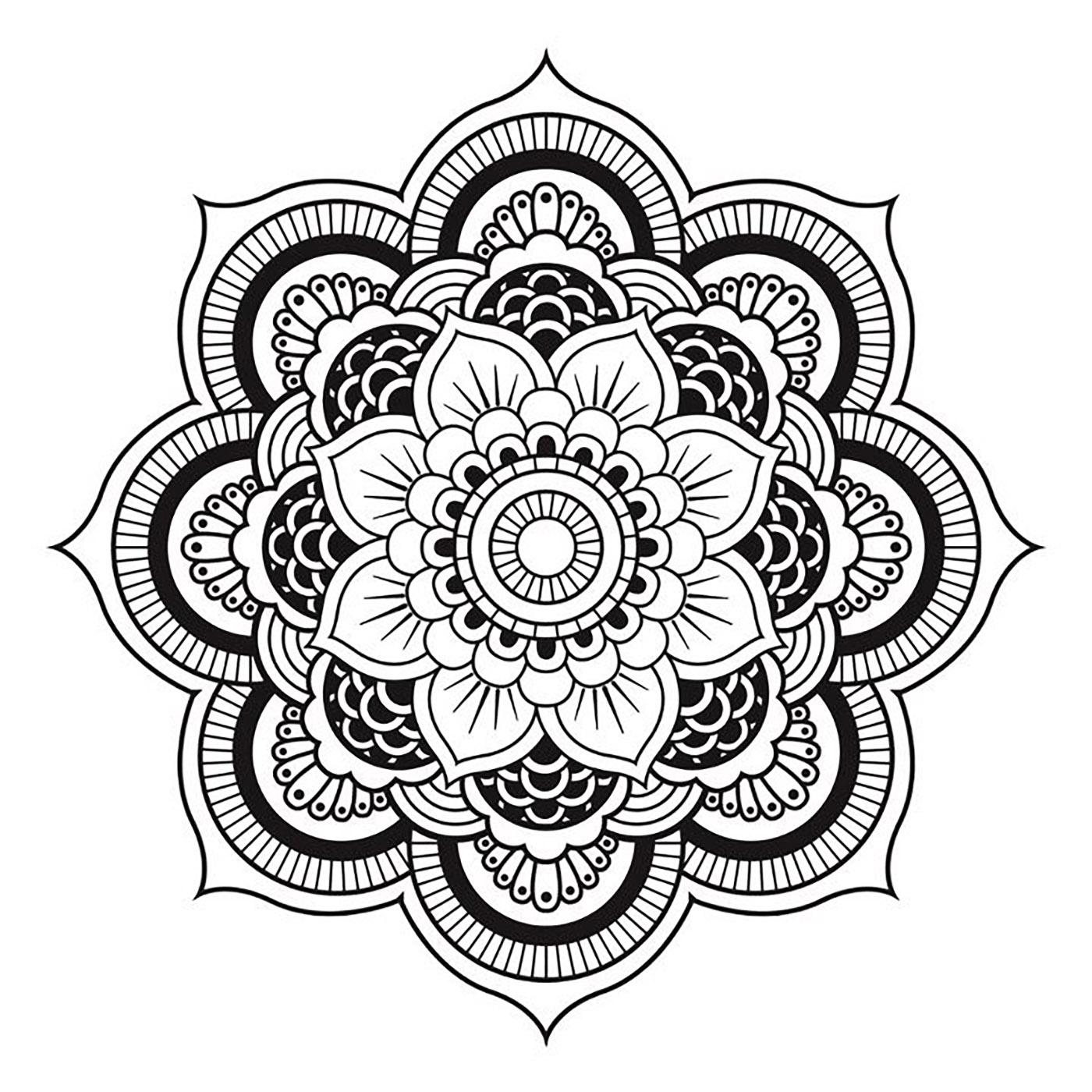 Le mois du bien être : atelier mandala |