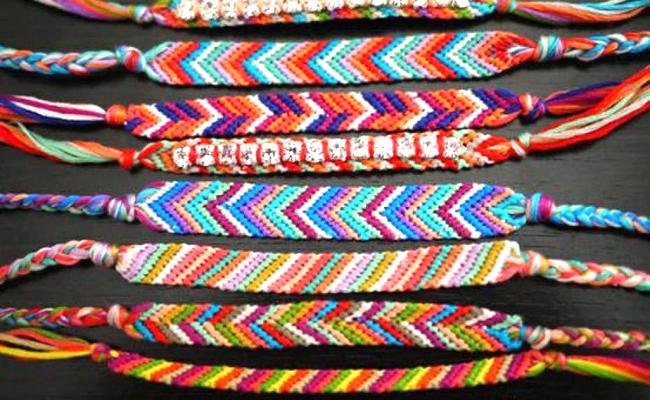 Les ateliers d'Annie: Les bracelets brésilien |