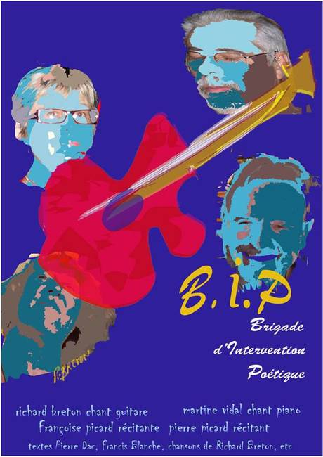 "Spectacle musical "" B.I.P"" Bulle d'Invention Poétique 